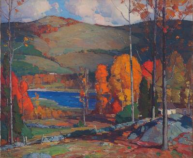 Aldro Thompson Hibbard, 'West River Valley, Autumn', 20th Century
