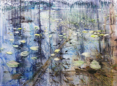 Matthias Meyer, 'Yellow Waterlilies 3 ', 2019