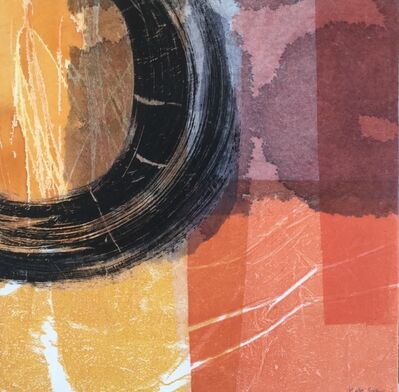 Kate Scott, 'Circle With Orange And Red', 2020
