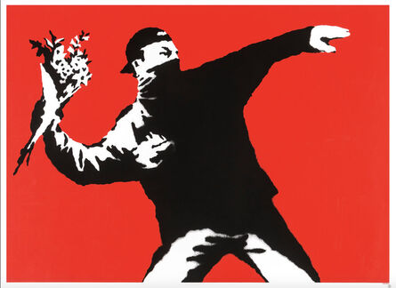 Banksy, 'Love Is in the Air - Unsigned', 2003
