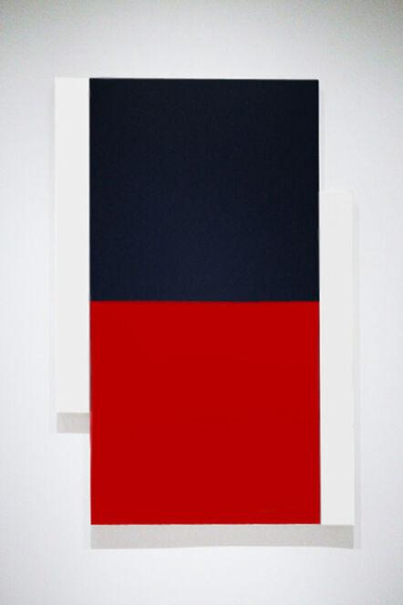 Scot Heywood, 'Poles White, Black, Red'
