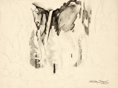 William Zorach, 'Yosemite - The Falls', 1920