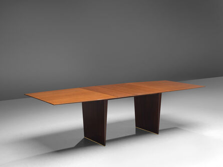 Edward Wormley, 'Dining Table in Tawi with Tapered Legs', 1960s