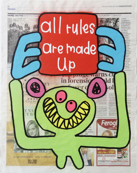 Bortusk Leer, 'All Rules Are Made Up', 2019