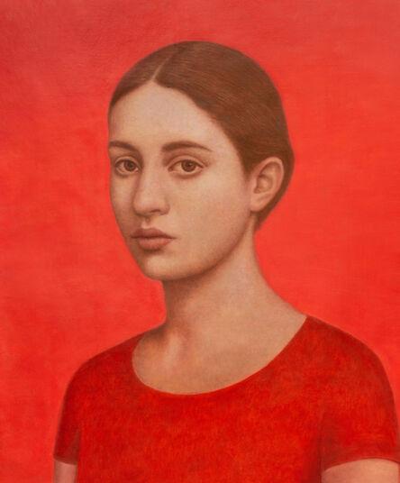 Alberto Gálvez, 'Rojo Persa', 2020