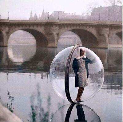 Melvin Sokolsky, 'Bubble on Seine, Color', 1963