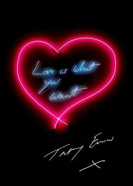 Tracey Emin, 'Love Is What You Want', 2015