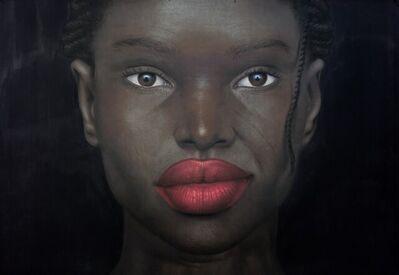 Babajide Olatunji, 'Tribal Marks Series III #62', 2021
