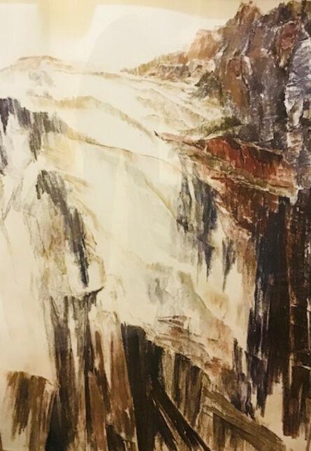 Linda L Cunningham, 'Sandstone Rift 3', 1988