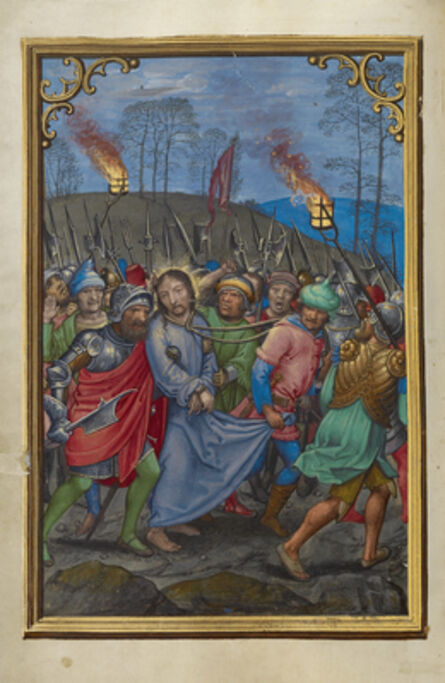 Simon Bening, 'The Arrest of Christ', 1525-1530