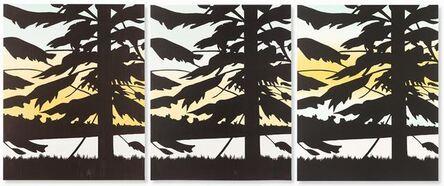 Alex Katz, 'Twilight 1, 2 & 3', 2009