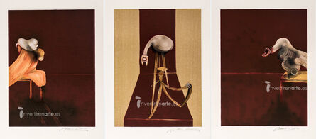 Francis Bacon, 'Second version of Triptych 1944-1989', 1989