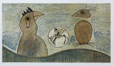 Max Ernst, 'Deux Oiseaux', 1975