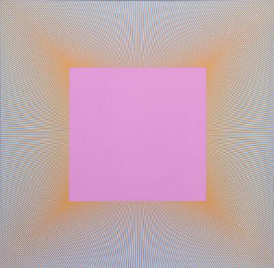 Richard Anuszkiewicz, 'Light Magenta Square', 1978