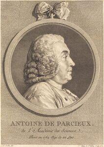 Augustin de Saint-Aubin after Charles-Nicolas Cochin I, 'Antoine De Parcieux', 1771