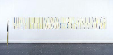 Diana de Solares, 'Camina la distancia y desacelera (walk the distance and slow down)', 2013