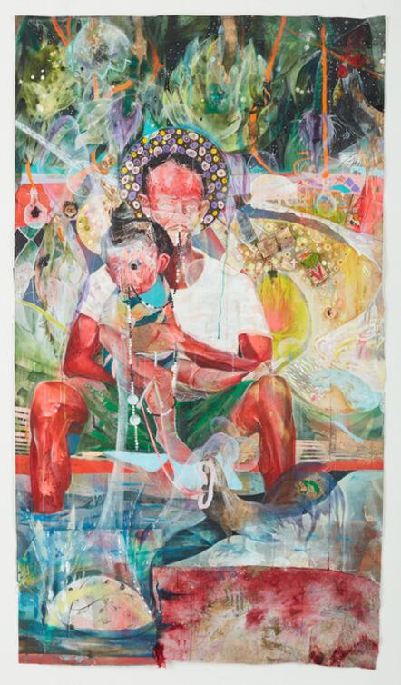 Lavar Munroe, 'Virgin and Child ', 2021