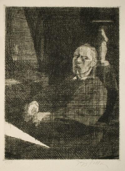 Jacques Villon, 'Le grand Dessinateur assis (Self-Portrait)', 1935
