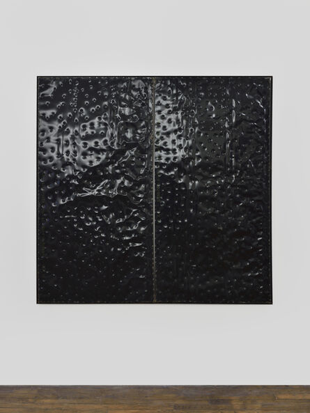 Kevin Rouillard, 'Extrait (tôle,choc) les rêves individuels et les événements de la vie matérielle et sociale, fragment noir', 2017