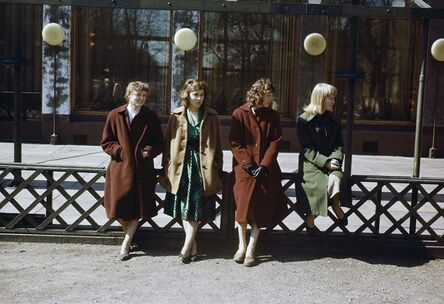 CLAIRE AHO, '4 Girls', Early 1950´s