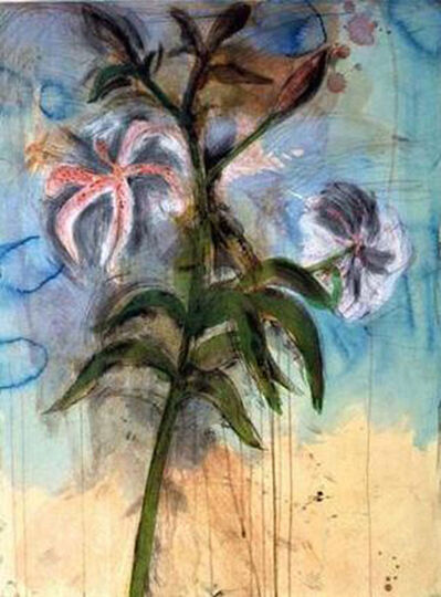 Jim Dine, 'The Sky and Lilies', 1998