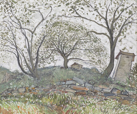 Mao Xuhui 毛旭辉, 'Walnut Trees in Guishan', 2009