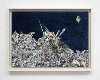 Lee Bul, 'Untitled (Willing to be Vulnerable) Velvet Collage', 2020