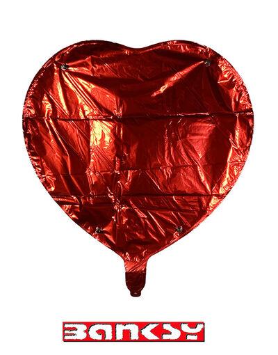 Banksy, 'MOCO 'Heart' Mylar Balloon', 2020