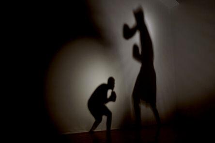 Wilfredo Prieto, 'The battle of the shadows', 2012