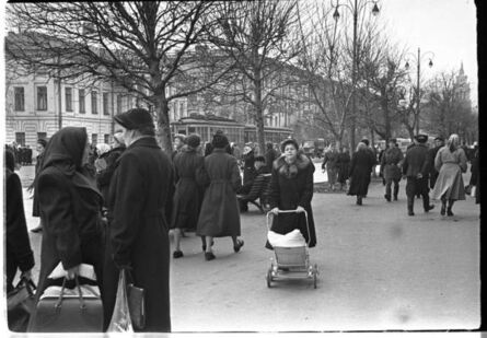 Iryna Pap, ' Kyiv city street', 1958