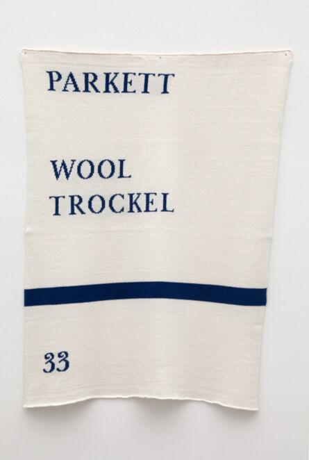 Jonathan Monk, 'Parkett Piece', 2014