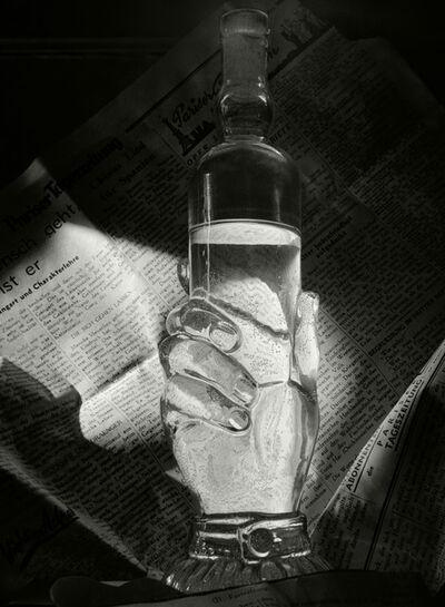 Herbert List, 'Bottle and Newspaper. Paris, France', 1936
