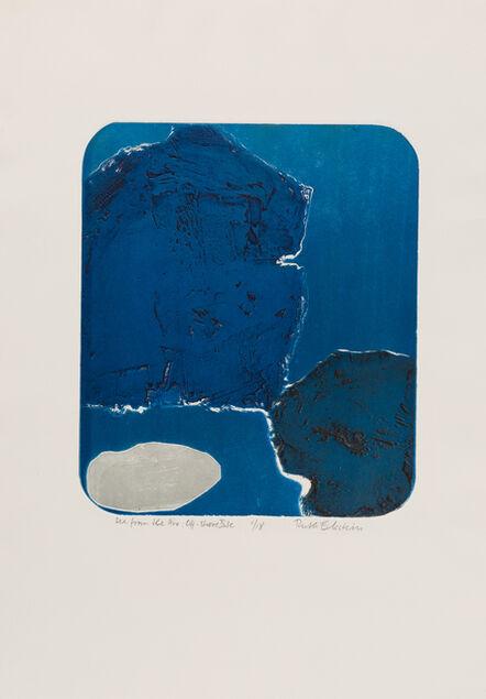 Ruth Eckstein, 'Sea from the Air: Off-Shore Isle', 1970