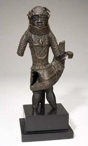 Unknown Artist, 'Figure of an Edo King (Oba)', 1620-1630