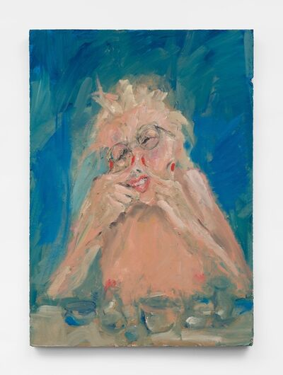 Eva Beresin, 'Never stand naked in front of a mirror and when that happens I close my eyes tight', 2021