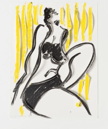 Marion Eichmann, 'Akt 1 (gelb)', 2020