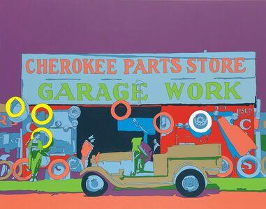 Francis Ruyter, 'Walker Evans 'Auto parts shop. Atlanta, Georgia'', 2011