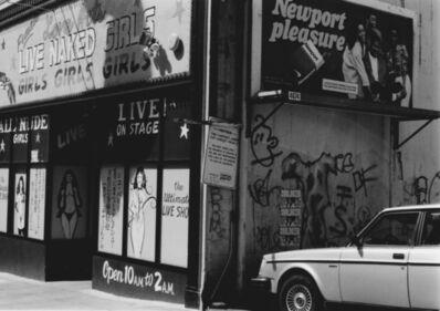 Arabella Colton, 'Wall Dog — Live Naked Girls, Mason St., San Francisco 1993', 1993