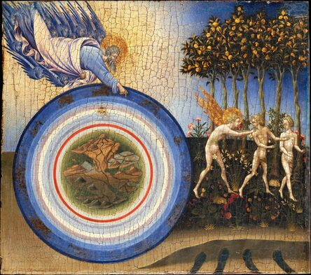 Giovanni di Paolo, 'The Creation of the World and the Expulsion from Paradise', 1445