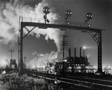O. Winston Link, 'Ghost Train', 1955