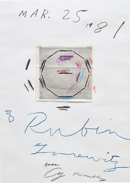 Cy Twombly, 'Untitled', 1981
