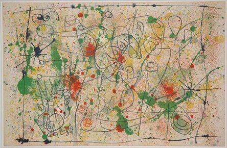 Joan Miró, 'I. Ubu Roi: Frontispiece, Naissance d'Ubu', 1966