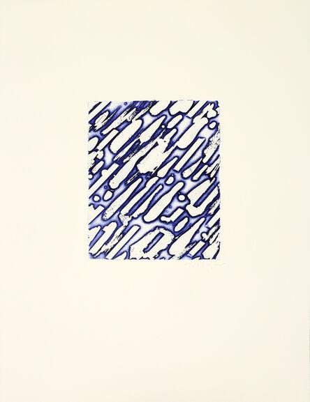 William Tillyer, 'Night Snow', 1974/2018