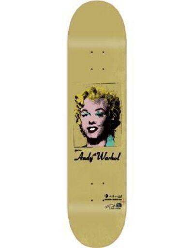 Andy Warhol, 'Golden Marilyn skateboard deck', ca. 2010