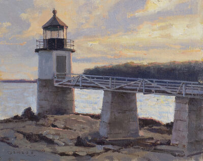 Donald W. Demers, 'Fading Light, Marshall Point Light, Port Clyde, Maine', 21st Century