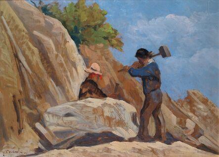 Giovanni Marchini, 'The stone breaker', 1932