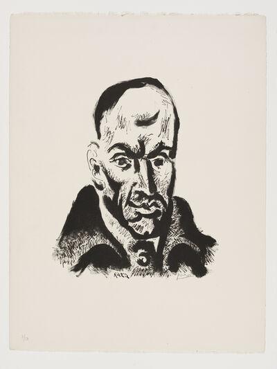 Pablo Picasso, 'Portrait de Góngora', 1947