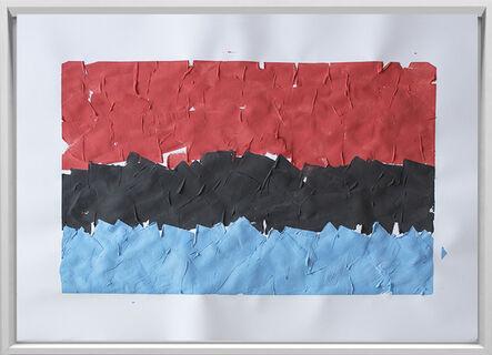 Rodrigo González Castellanos, 'Desgaste de la psicología del color, Fuerza', 2020