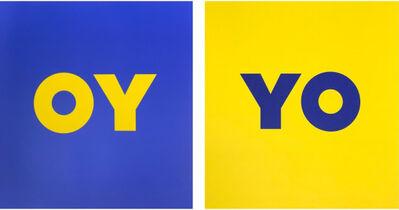 Deborah Kass, 'OY and YO', 2020