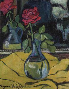 Suzanne Valadon, 'La rose au miroir', 1919